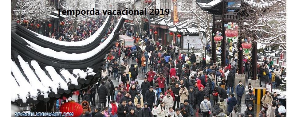 China registra fuerte crecimiento de turismo en vacaciones de Fiesta de Primavera