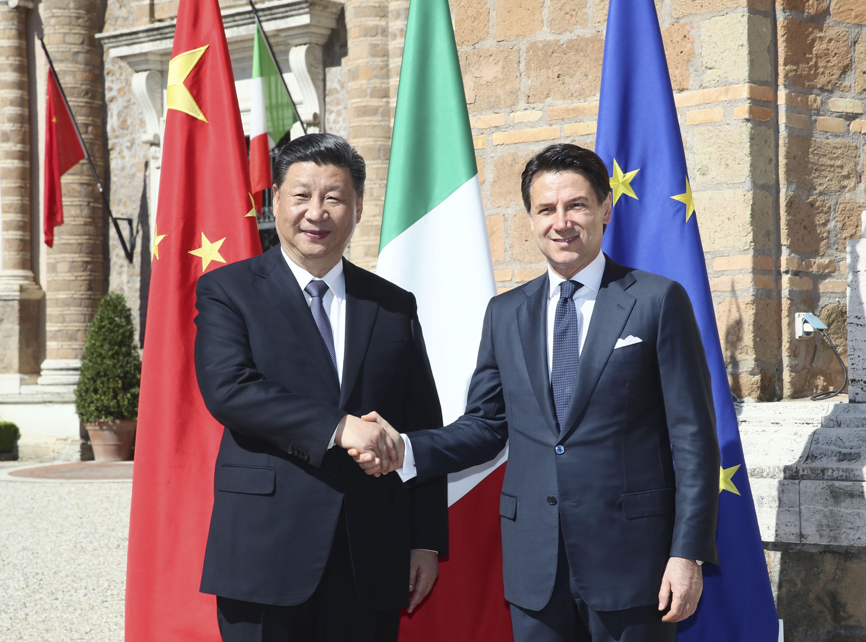 Xi y Conte sostienen conversaciones sobre elevar lazos China-Italia a nueva era