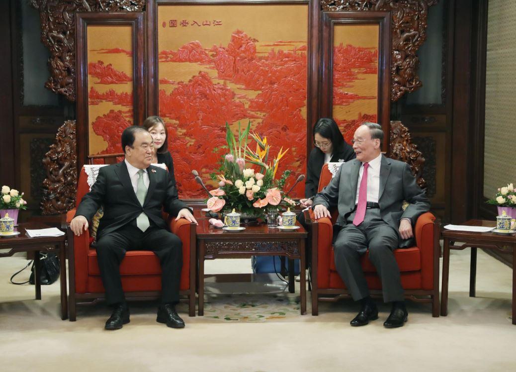 China y República de Corea deben profundizar cooperación y coordinación, dice vicepresidente chino
