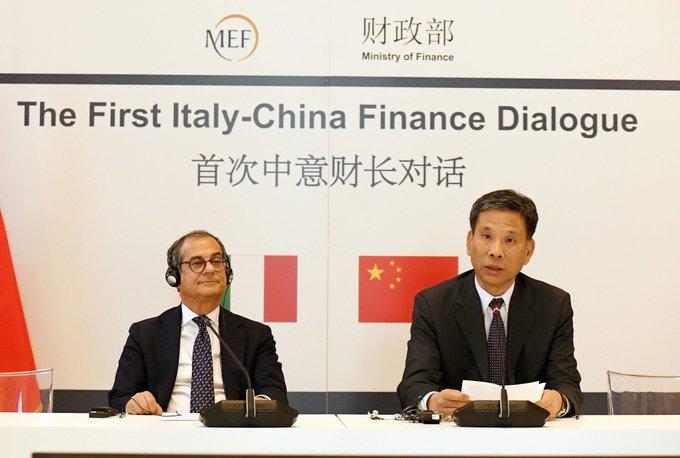 China e Italia acuerdan cooperar y abrir sus mercados financieros