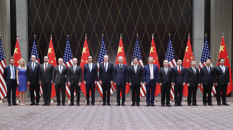 China y EEUU celebran 12ª ronda de consultas comerciales de alto nivel en Shanghai