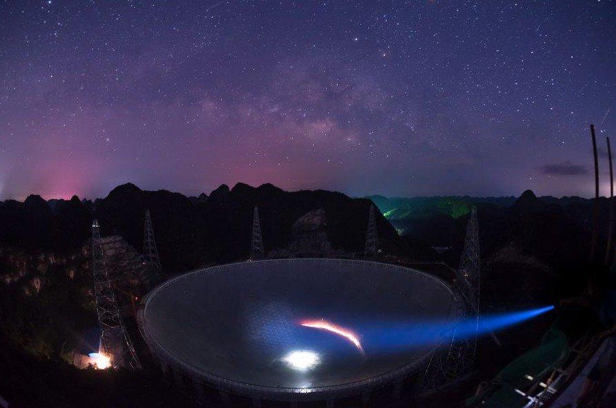 """""""Nuevos mundos"""" fuera del sistema solar, meta del radiotelescopio más grande del mundo"""