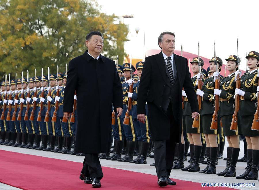 Cooperación China-Brasil acoge un futuro más brillante, dice Xi