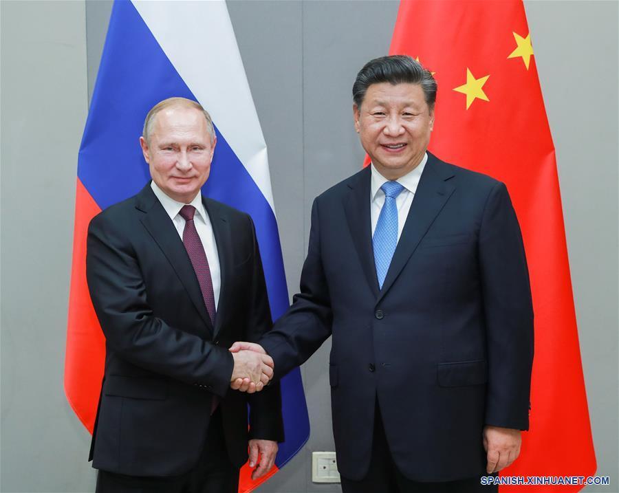 Xi pide que se mantenga a alto nivel impulso sano de desarrollo de lazos China-Rusia