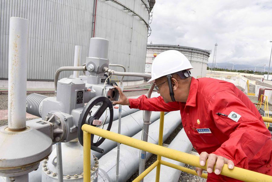 Oleoducto China-Kazajistán transporta 10,88 millones de toneladas de crudo en 2019
