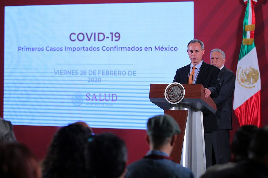 Gobierno de México pide 'no caer en pánico' ante primeros casos confirmados de COVID-19