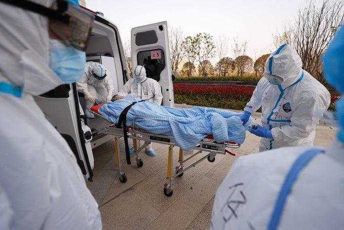 Cae a menos de 10 mil número de casos confirmados de COVID-19 en parte continental de China
