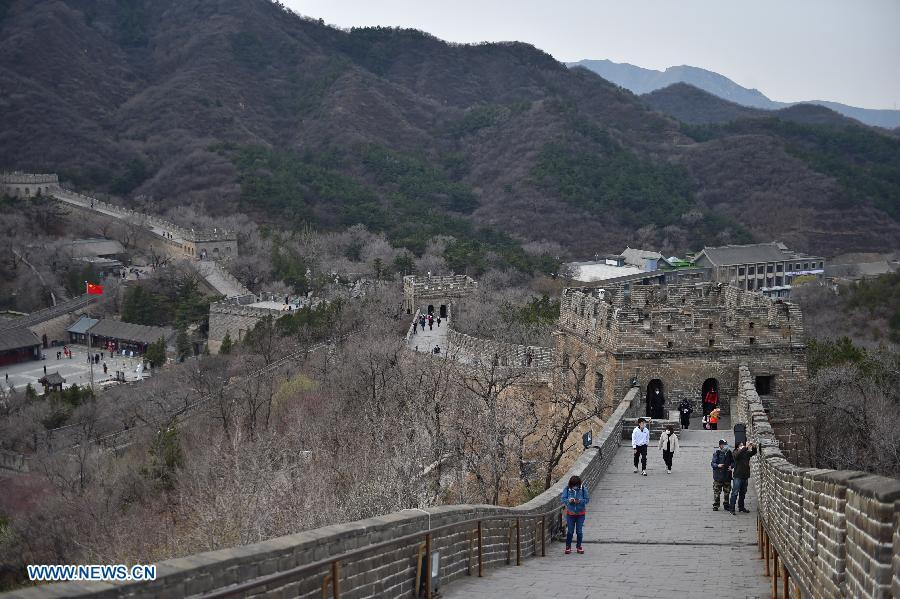 Gran Muralla de China reabre parcialmente al público