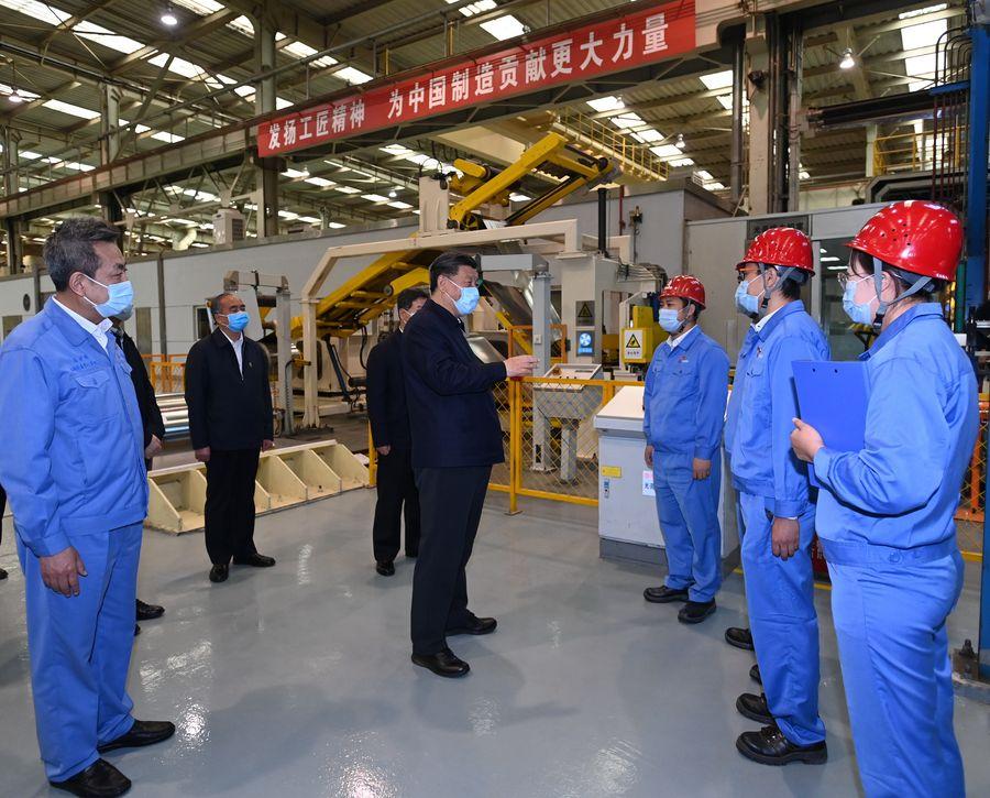 ENFOQUE: Xi encabeza reapertura económica de China por vía sostenible