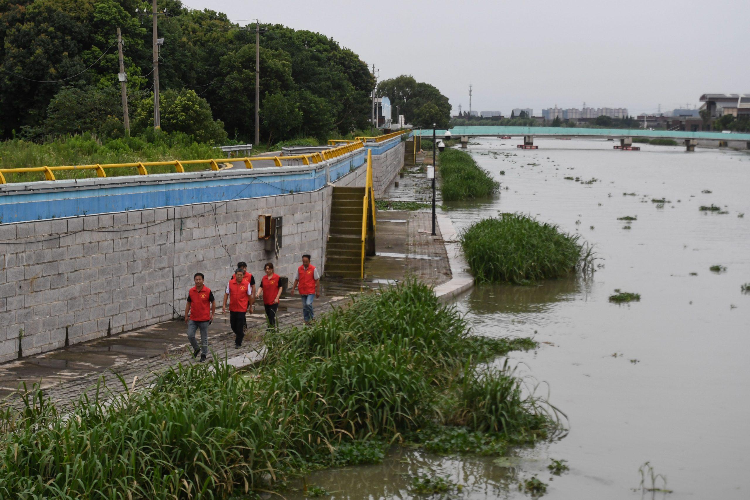 Zhejiang de China eleva respuesta ante tifón