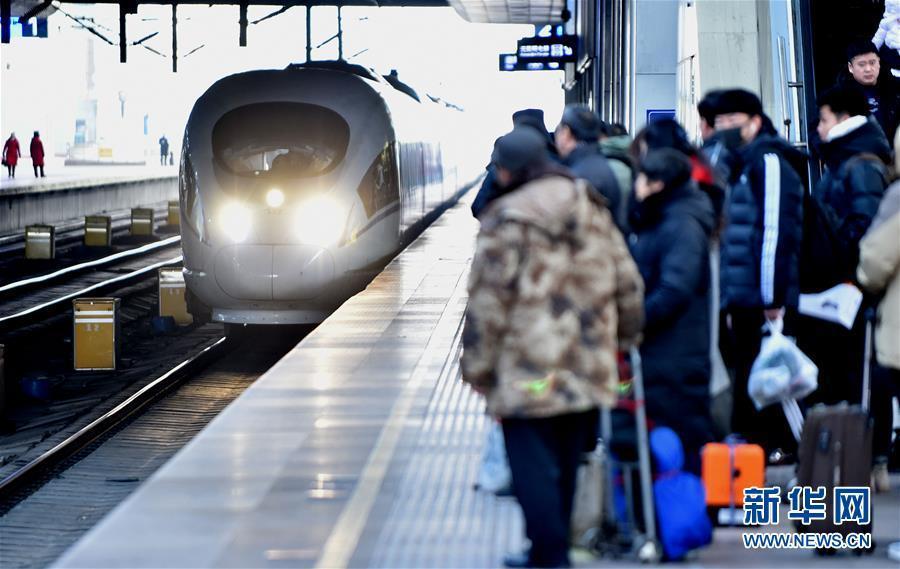 China registra 207 millones de viajes ferroviarios en julio