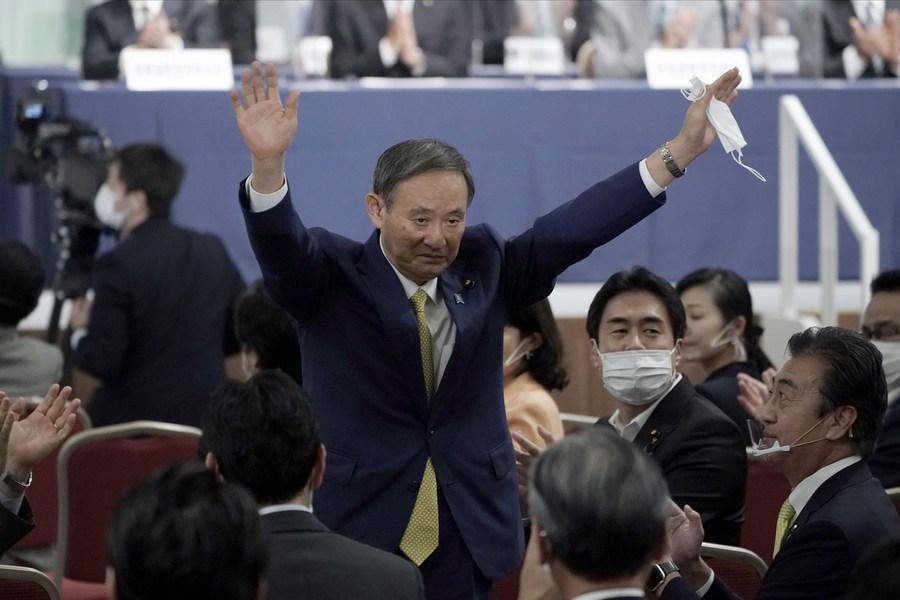 Yoshihide Suga elegido nuevo presidente del gobernante Partido Liberal Democrático de Japón