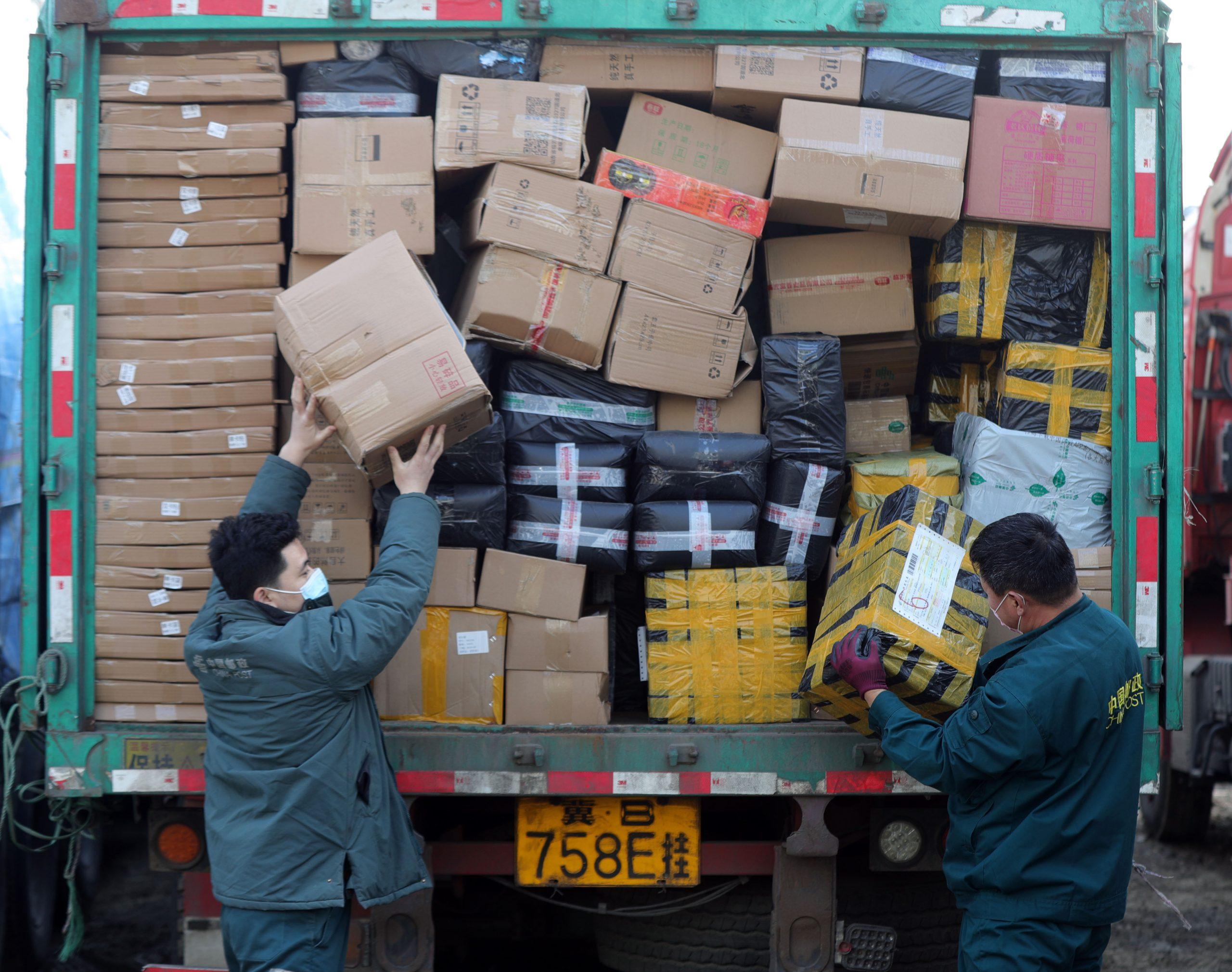 Chinos gastan más de 107.000 millones de dólares durante festival nacional de compras en línea