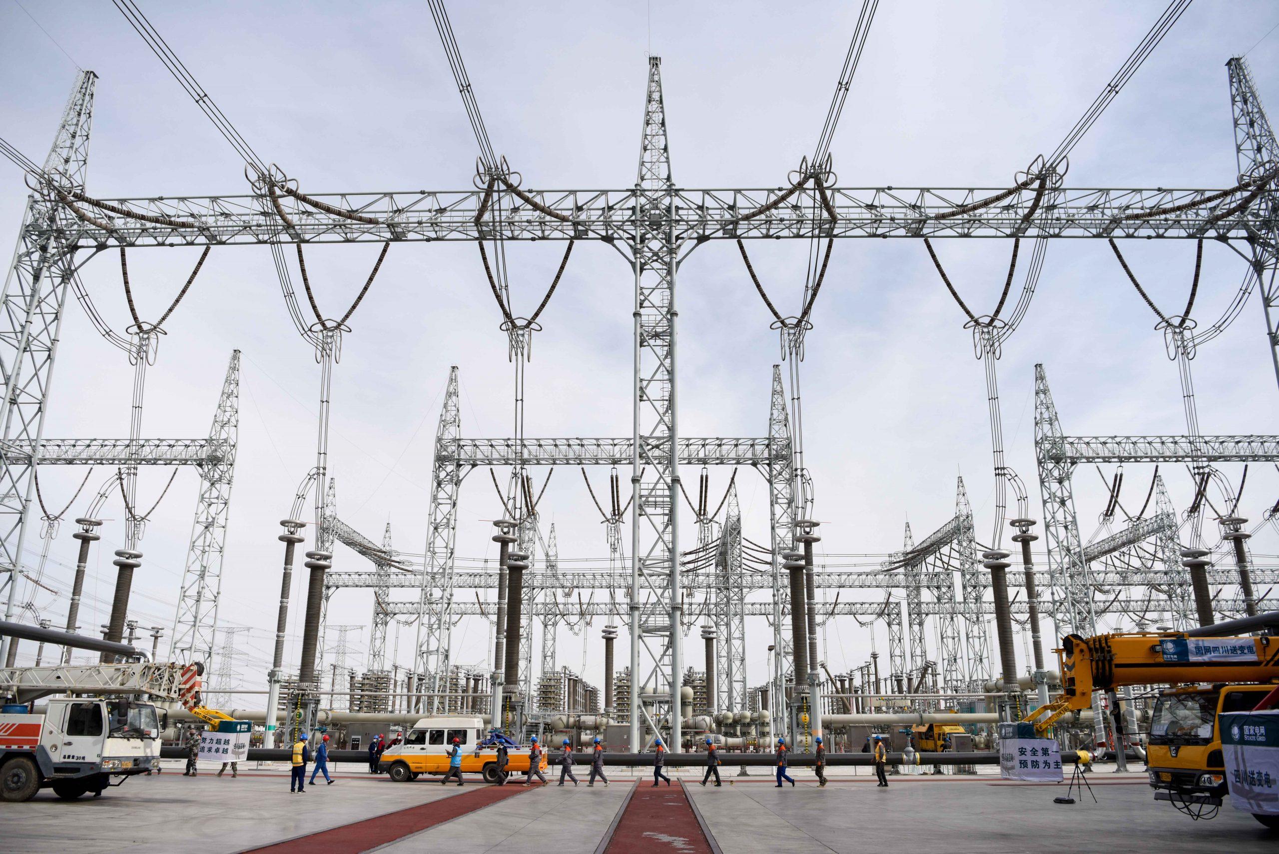 Principal línea eléctrica de China transmite 100.000 millones de kWh de electricidad