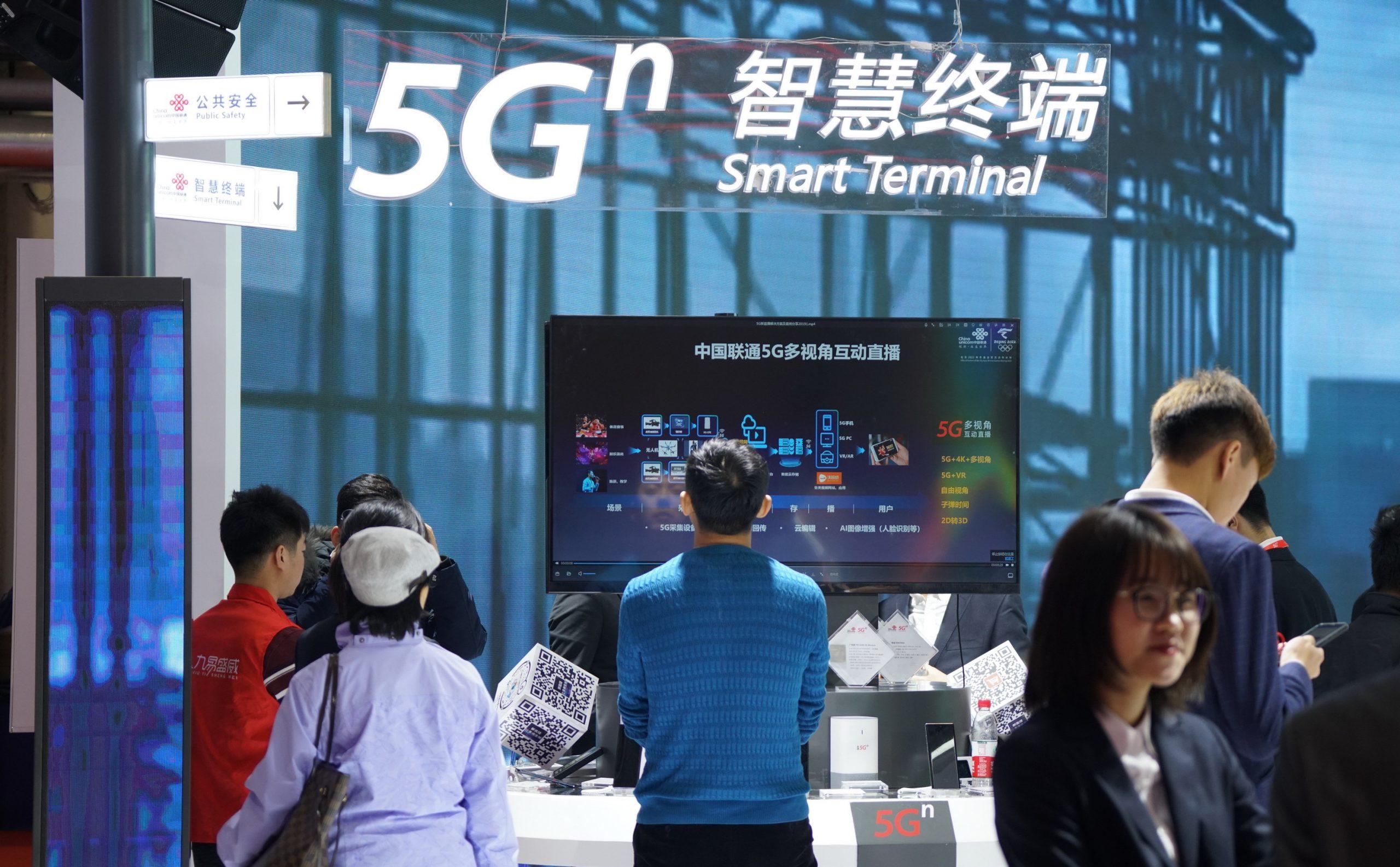China tiene más de 700.000 estaciones de base 5G