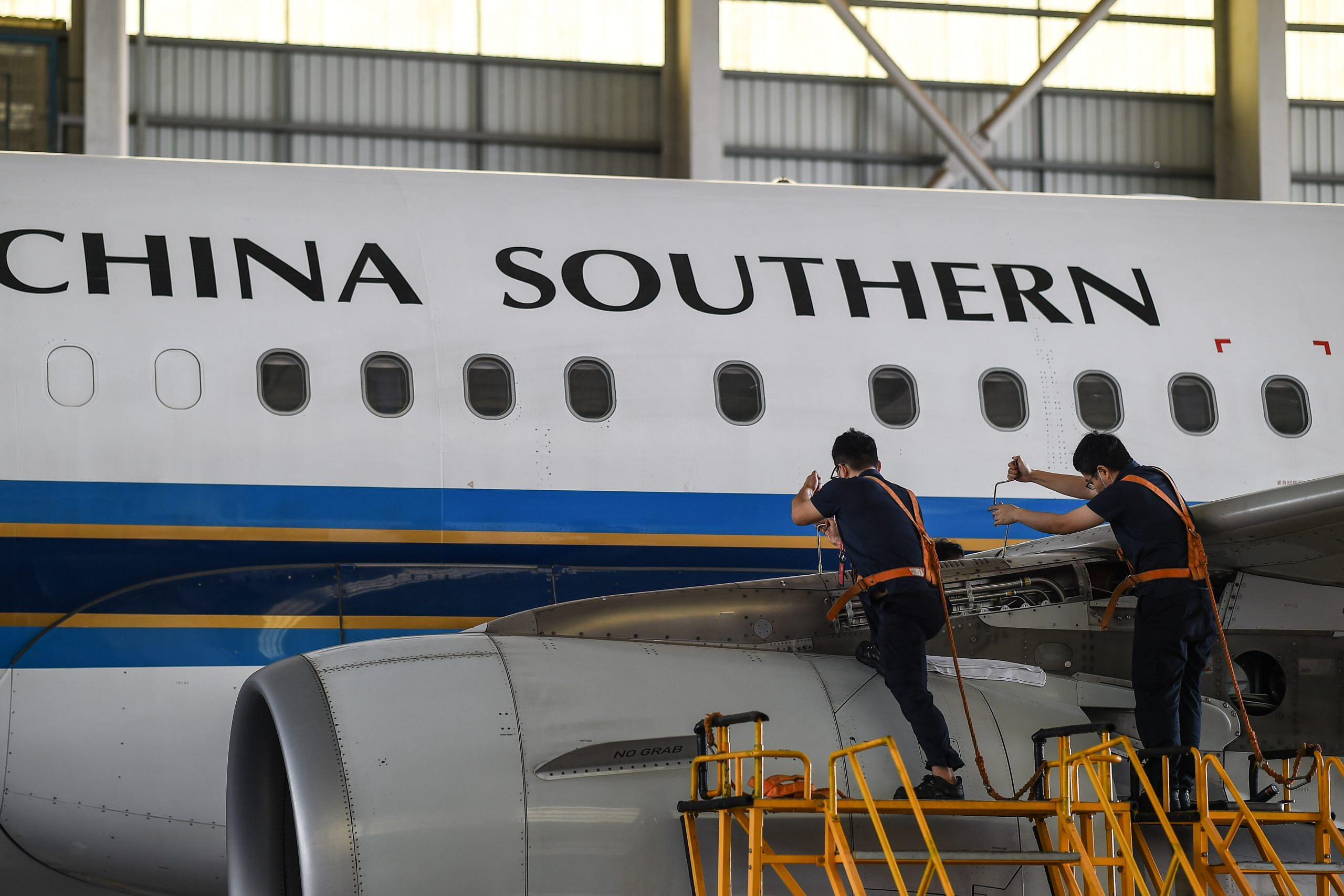 Sucursal de China Southern Airlines anuncia reestructuración