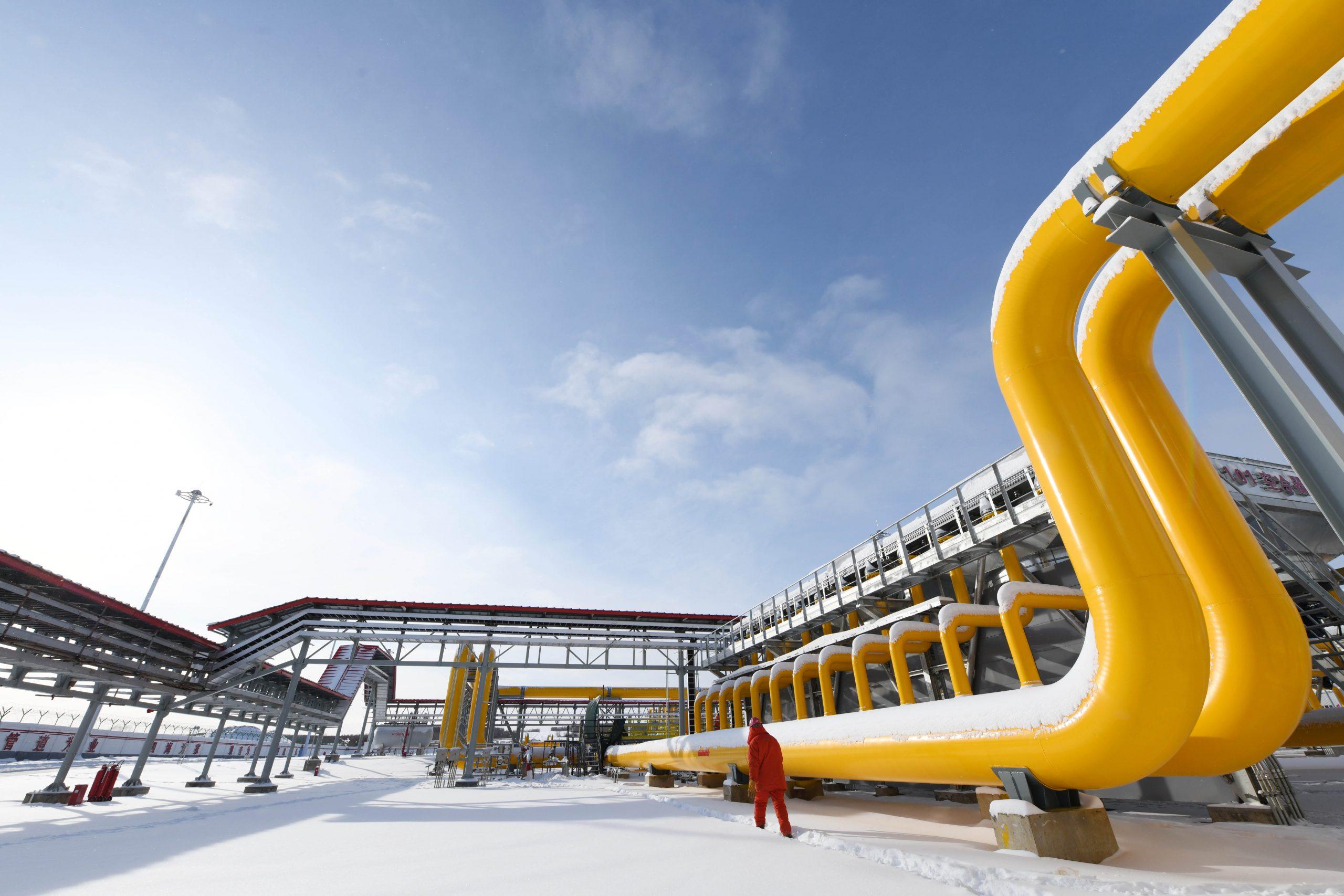 China importa 3.850 millones de metros cúbicos de gas natural de Rusia mediante gasoducto