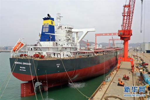 Industria de construcción naval de China mantiene liderazgo mundial en 2020