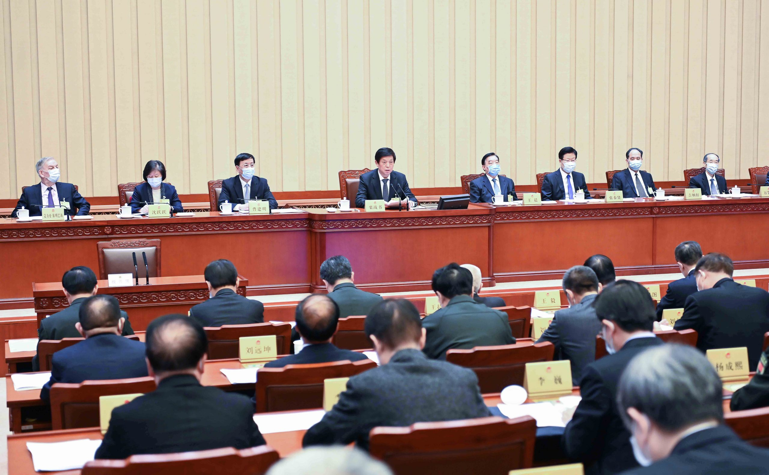 Máximo órgano legislativo de China celebrará conferencia de prensa antes de sesión anual