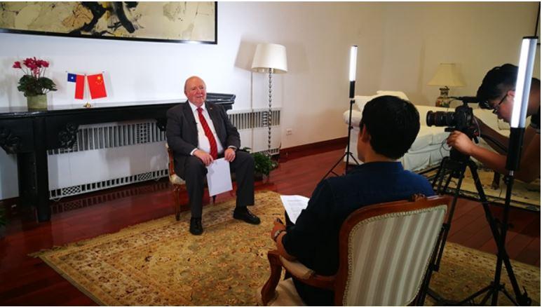 """Embajador de Chile: """"Las '#DosSesiones' serán importantísimas y diferentes"""""""