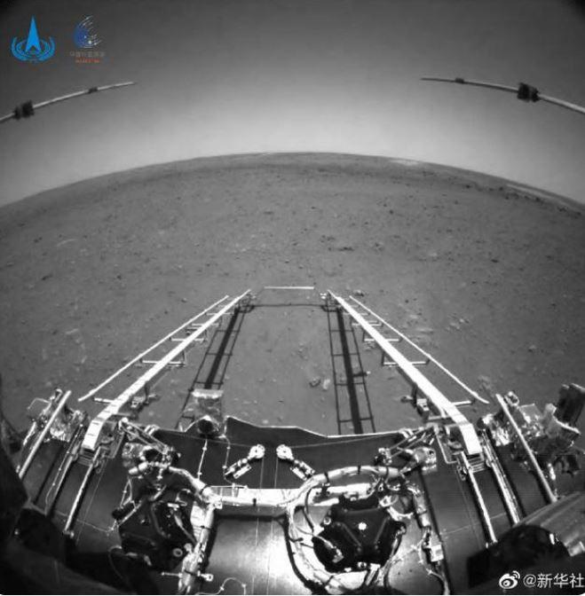 Explorador chino de Marte recorre más de 400 metros