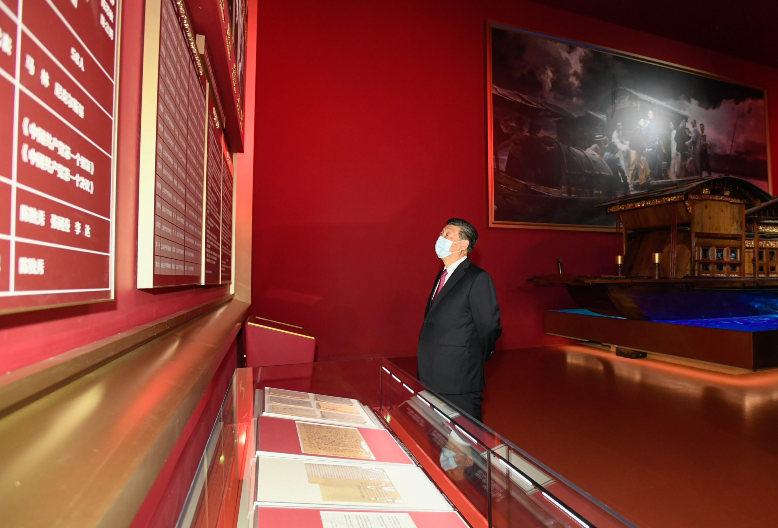 China inaugura exposición sobre historia del Partido antes del centenario del PCCh