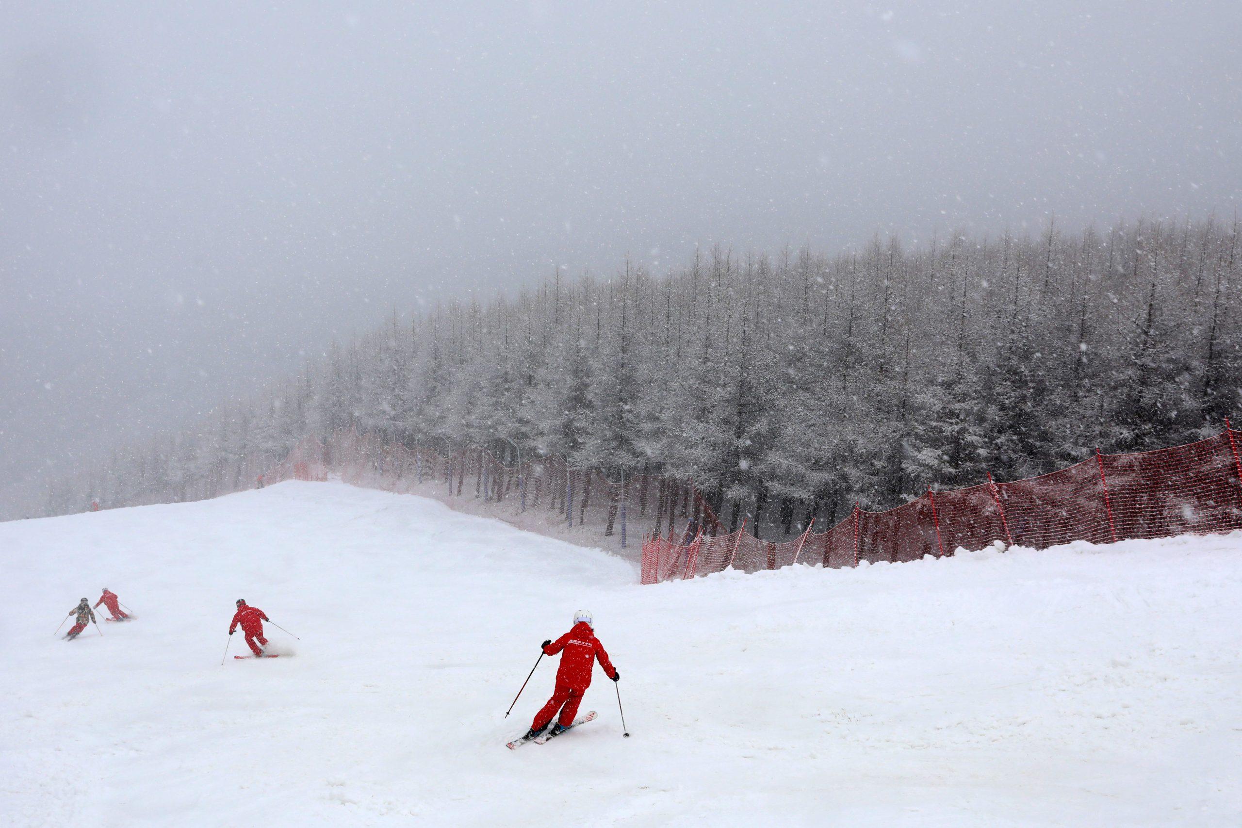 China abre inscripciones para concurso global de fotografía de deportes de invierno