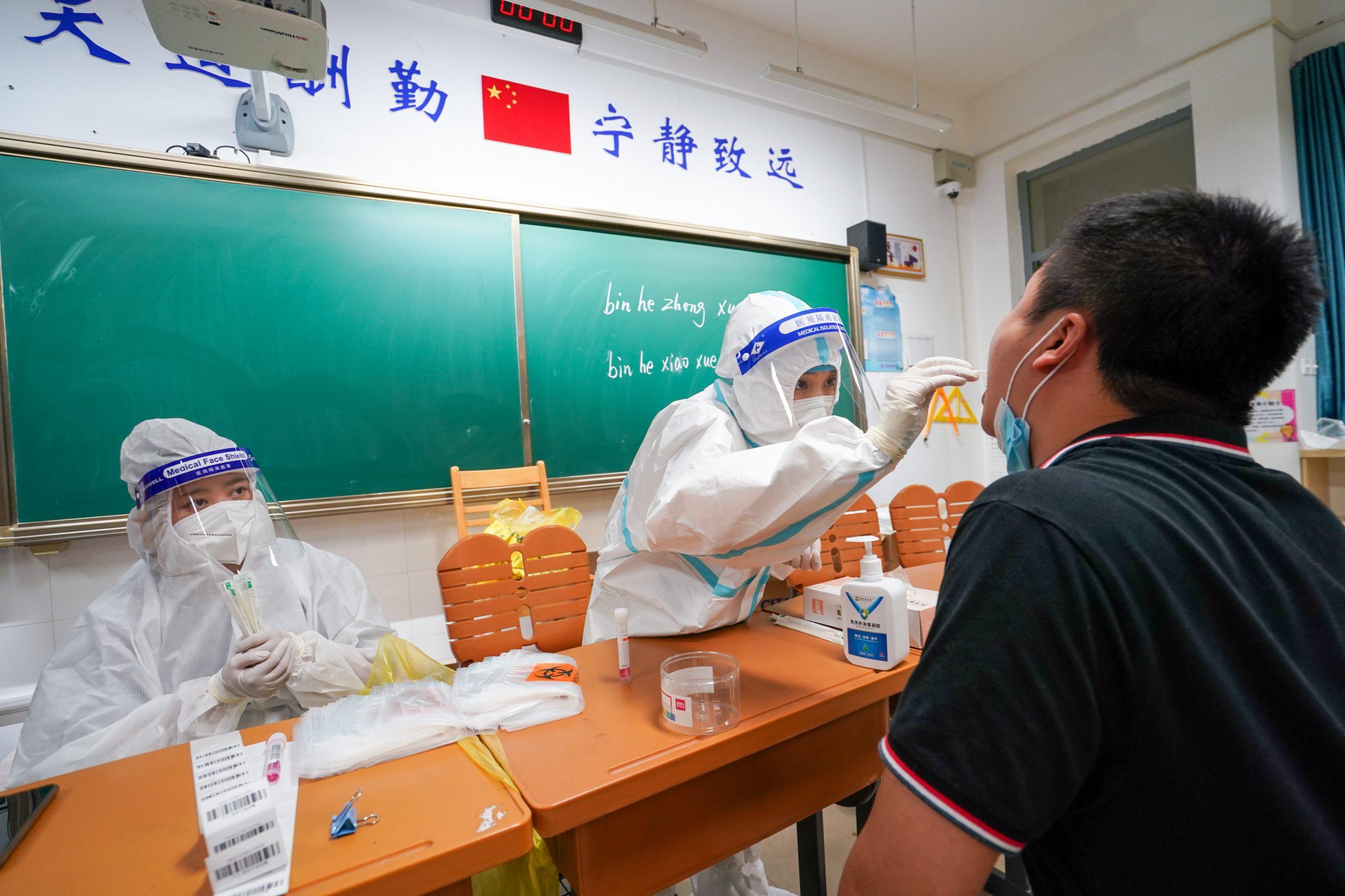 Provincia china de Jiangsu reporta 39 nuevos casos confirmados de COVID-19