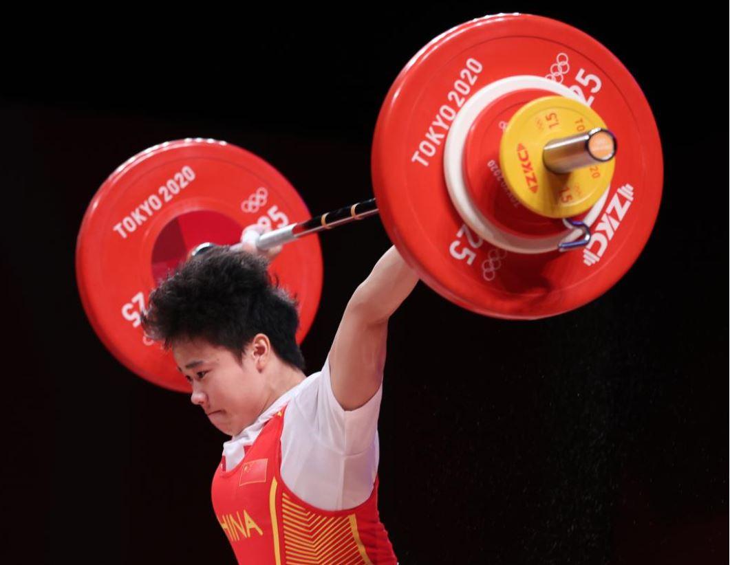 Tokio 2020: China gana segundo oro olímpico con victoria de Hou Zhihui en halterofilia femenina