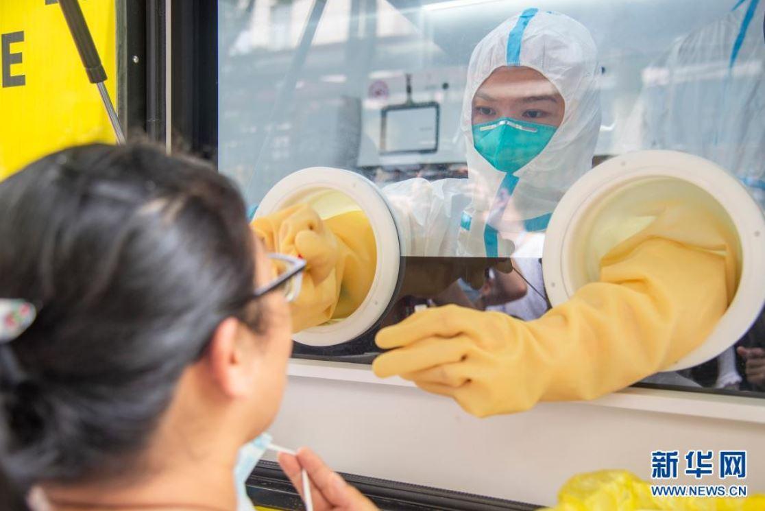 Parte continental de China reporta 80 nuevos casos de transmisión local de COVID-19