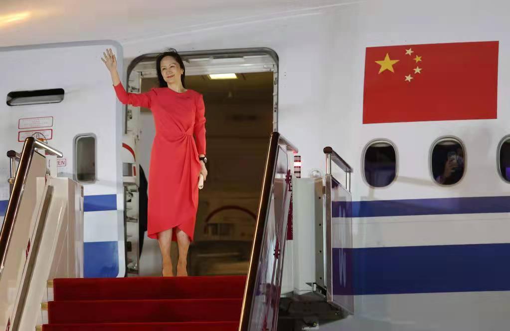 Meng Wanzhou regresa a China