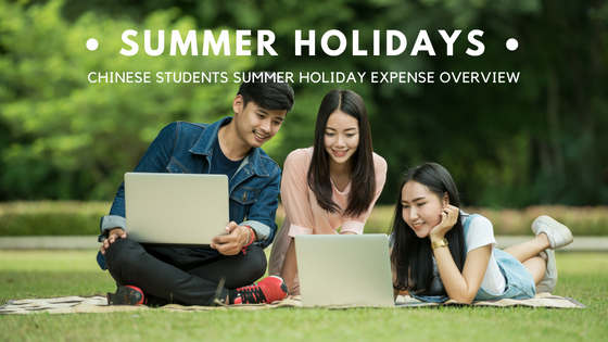 Chinese Students Summer Holiday Expense