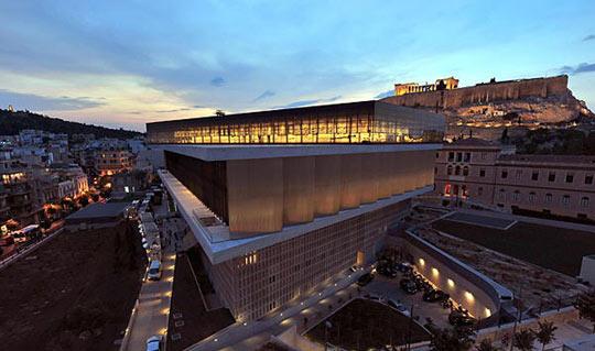 雅典衛城新博物館開幕 希臘敦促英歸還神廟浮雕_多維新聞網
