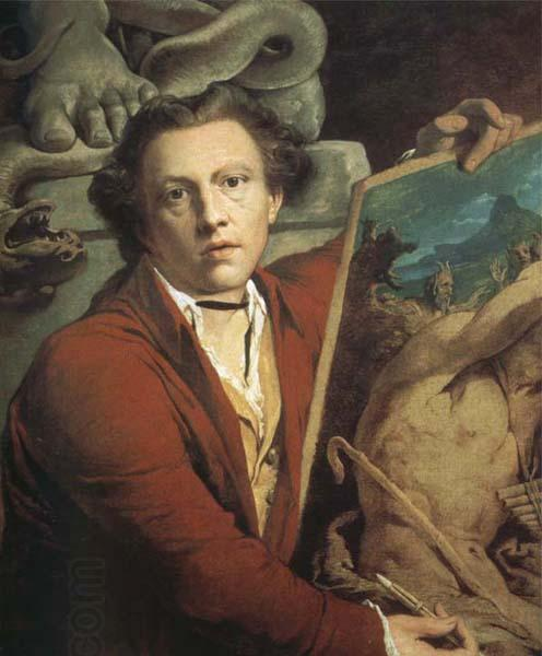 James Barry Self-Portrait as Timanthes oil painting picture