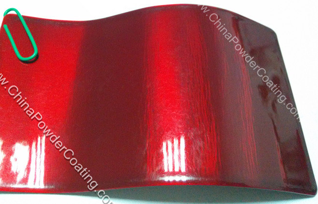 Transparent Red Powder Coating Powder Paint Supplier