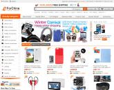Screenshot van de website van eForChina