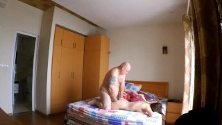 Hot Asian massage with blowjob and fuck 按摩 他妈的