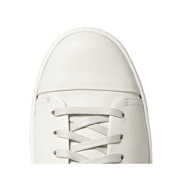 Mens White High Top Sneakers (6)