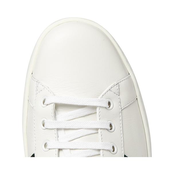 Men's White Low Top Sneakers (6)