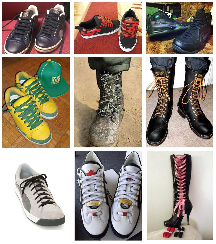 44303b1e08fb Criss Cross Lacing - Range Cover - China Shoe Factory