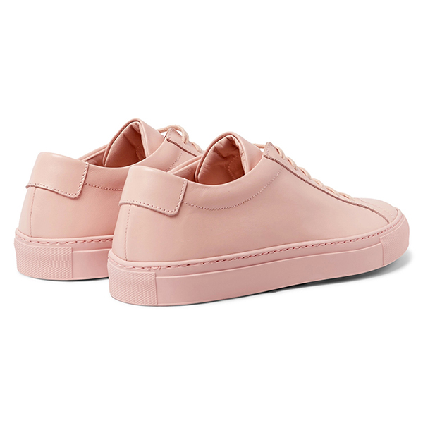 Leather Low Top Sneakers (4)