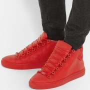 Red High Top Sneakers (2)
