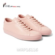 Leather Low Top Sneakers