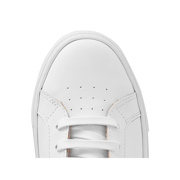 Men's All White High Top Sneakers (6)