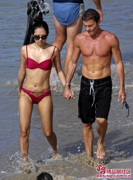 Zhang Ziyi Topless Bikini Pictures
