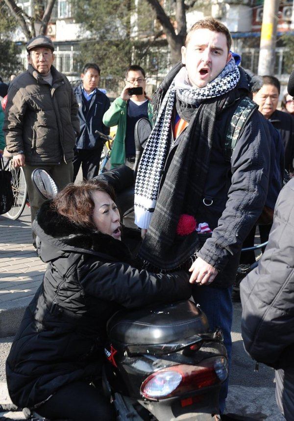 Beijing Foreigner Extorted After Running Into Chinese Woman? - chinaSMACK