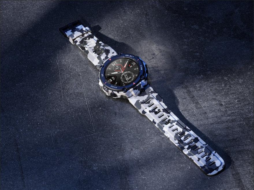 Amazfit T-Rex ufficiale: smartwatch rugged con certificazione militare