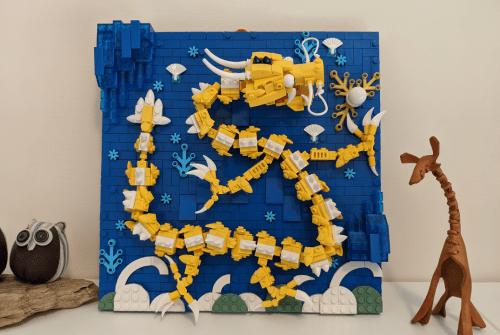 Cloni Lego cinesi: Muro dei Nove Draghi – Kazi KY2002 | Recensione