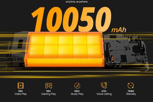 doogee S59 pro batteria