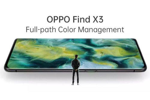 Full Path Colour Management per OPPO Find X3: 1000000000 di colori!
